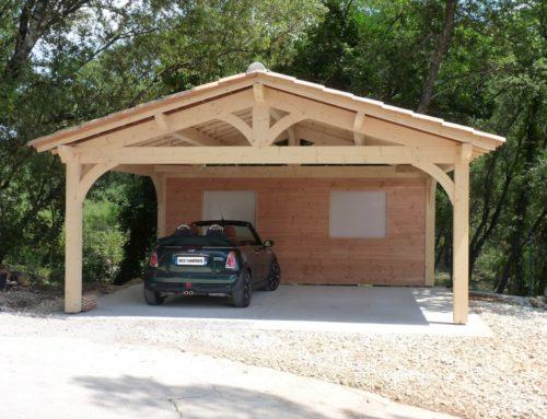 Osez le bois pour votre abri voiture