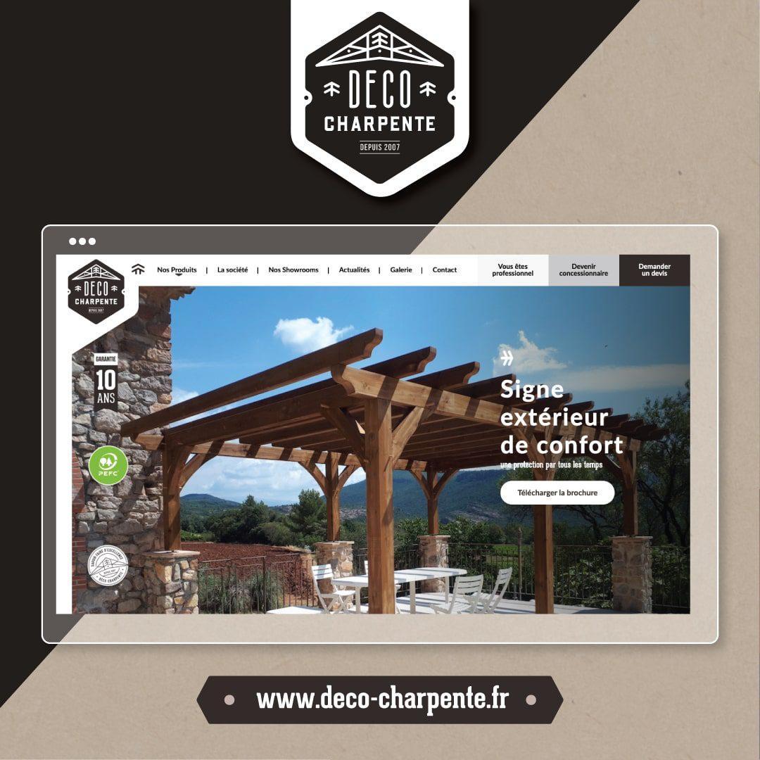 Nouveau site internet Déco Charpente