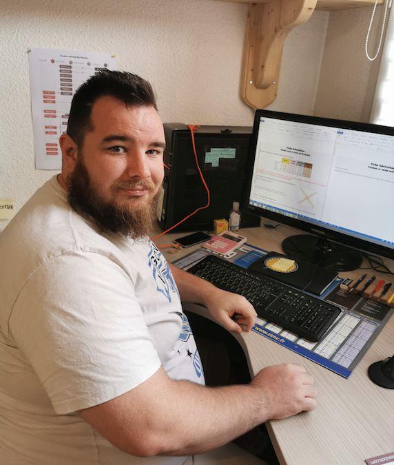 Anthonin Isnard du bureau d'études Déco Charpente