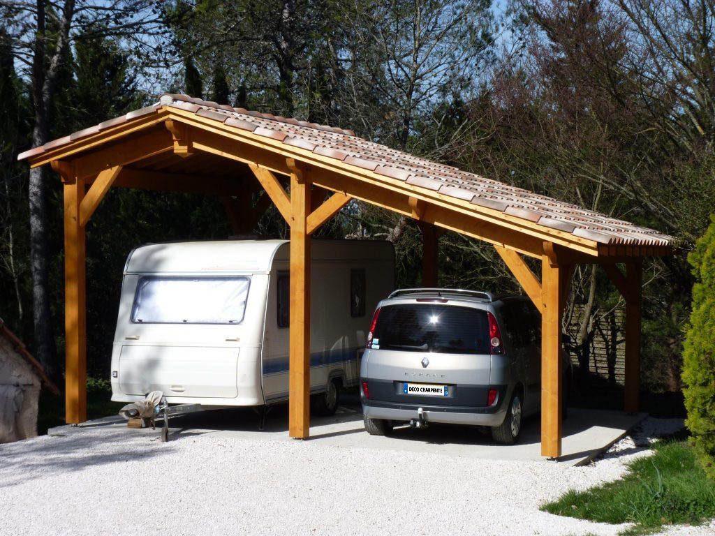 abri camping-car et voiture