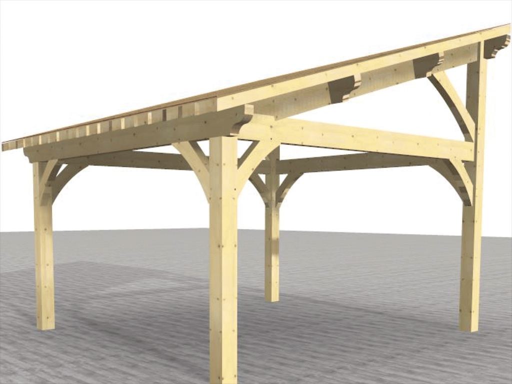 carport plan 3d